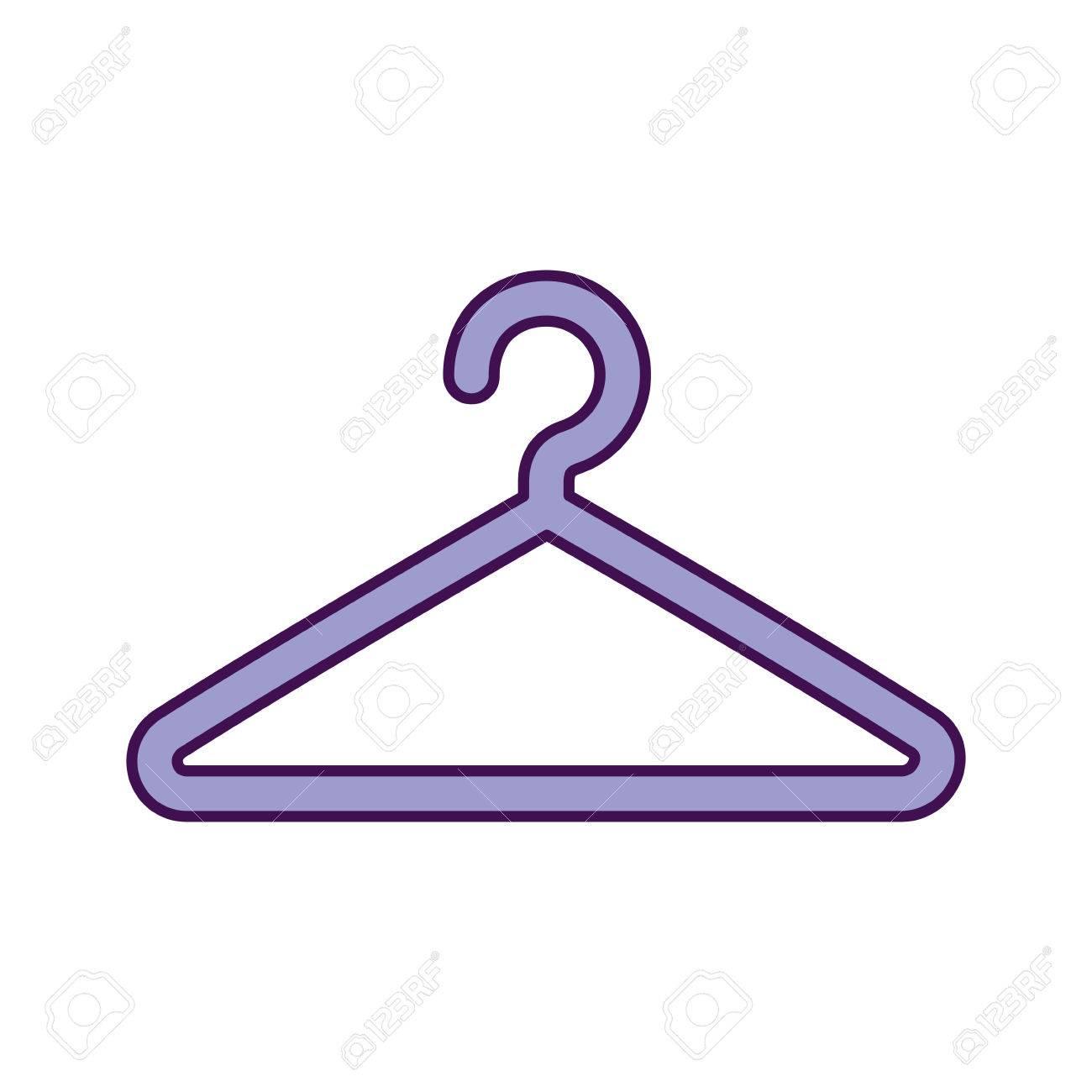 Draht Wäscheklammer Isoliert Symbol Vektor-Illustration Design ...