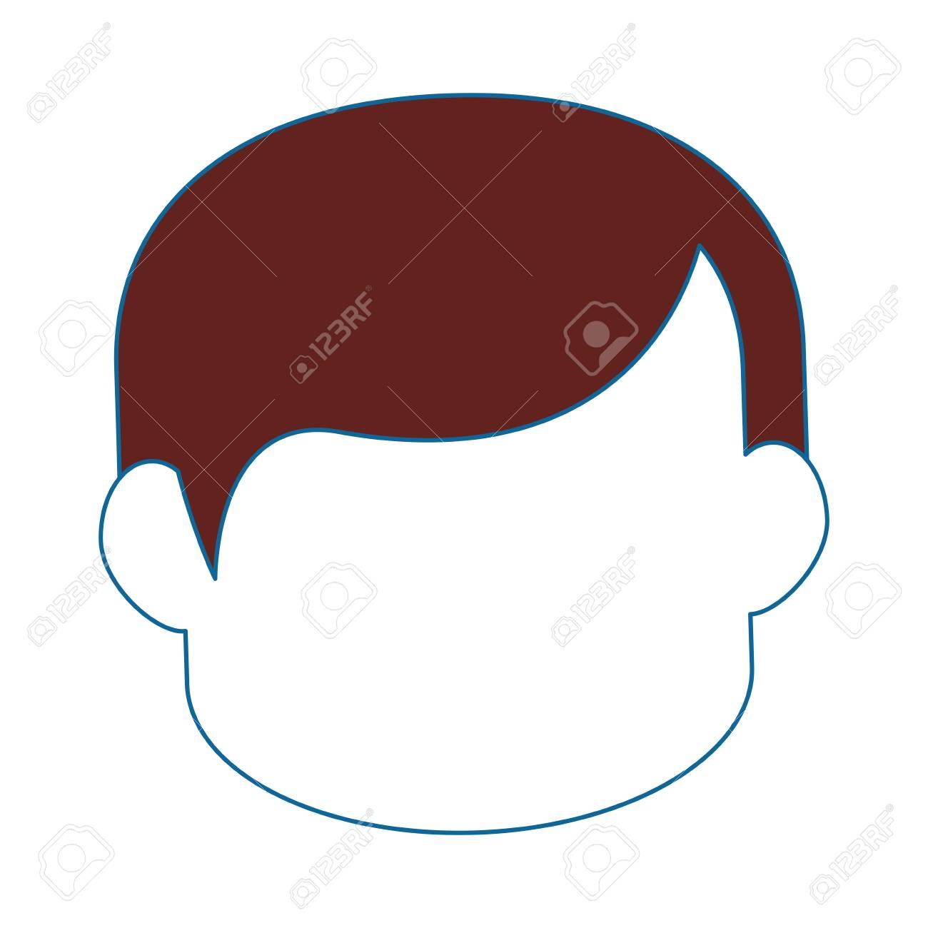 남자 만화 프로필 아이콘 벡터 일러스트 그래픽 디자인