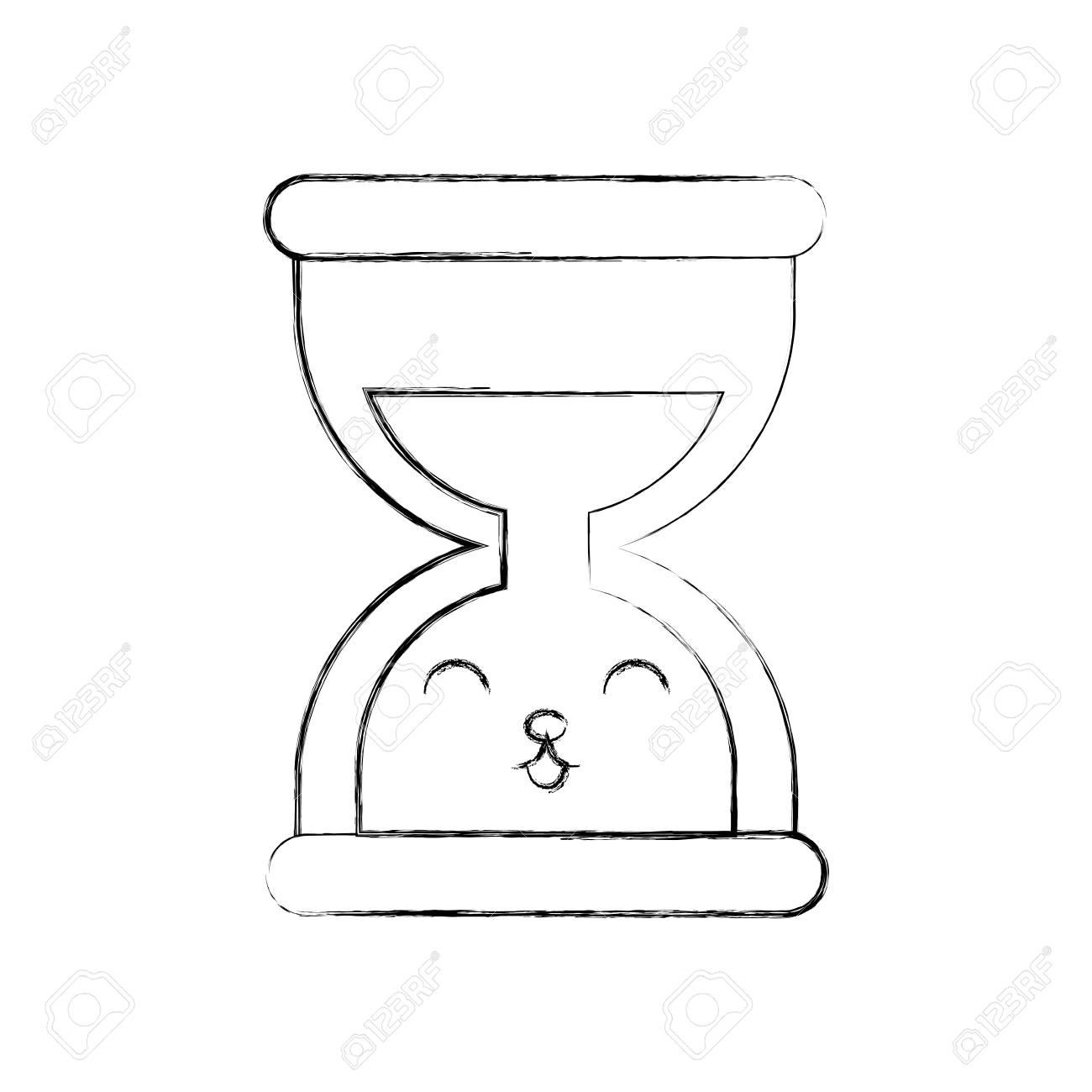 business time management hourglass cartoon vector illustration Hourglass Clip Art business time management hourglass cartoon vector illustration stock vector 86857015