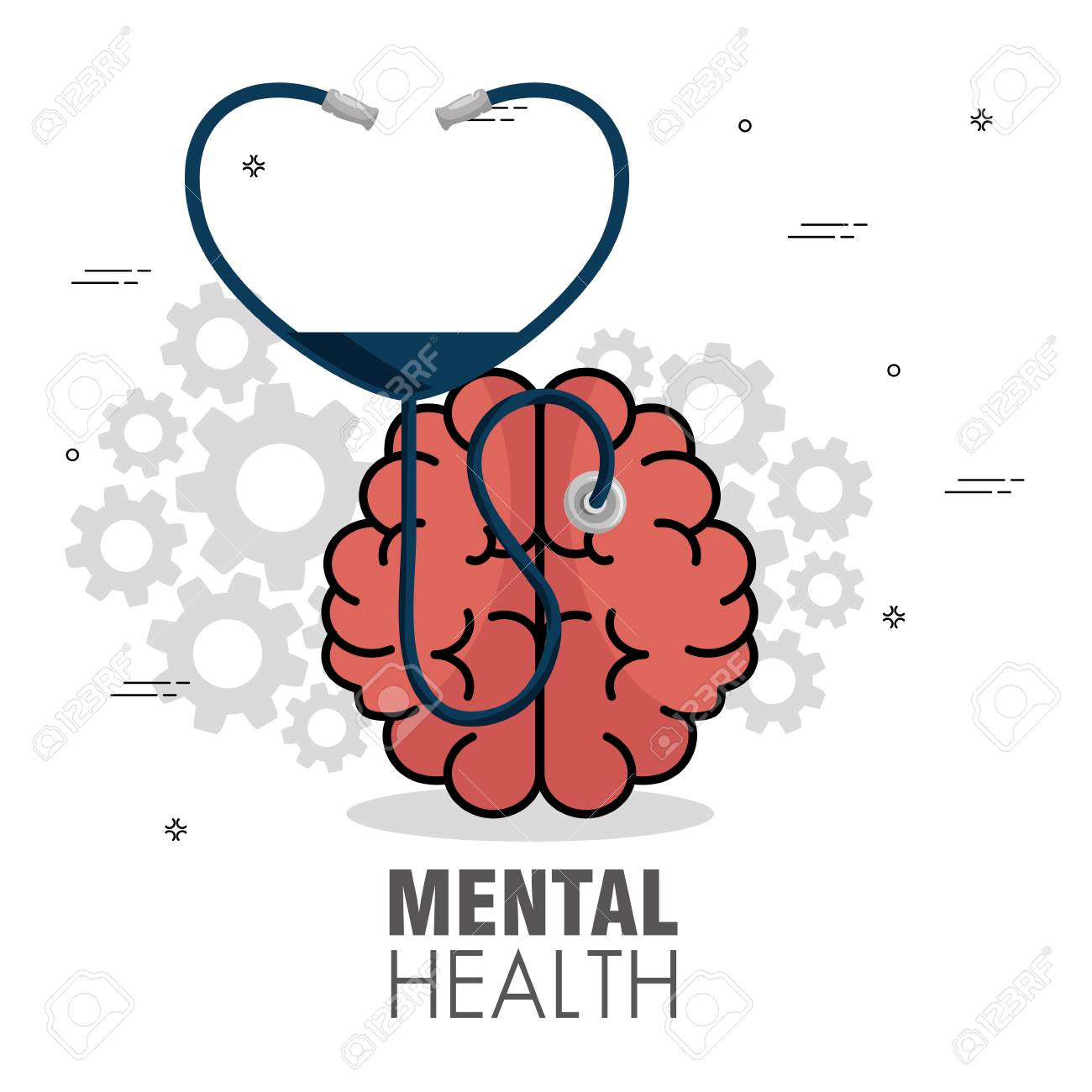 Mental Health Concept Day Mental Health Concept Day Royalty Free Cliparts Vectors And Stock Illustration Image 87694239