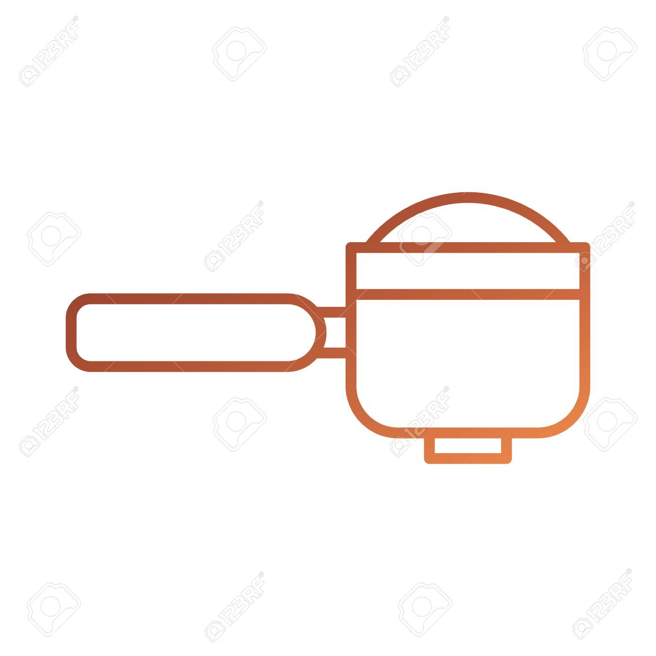 portafilter epresso coffee machine accessory vector illustration royalty free cliparts vectors and stock illustration image 87734085 portafilter epresso coffee machine accessory vector illustration