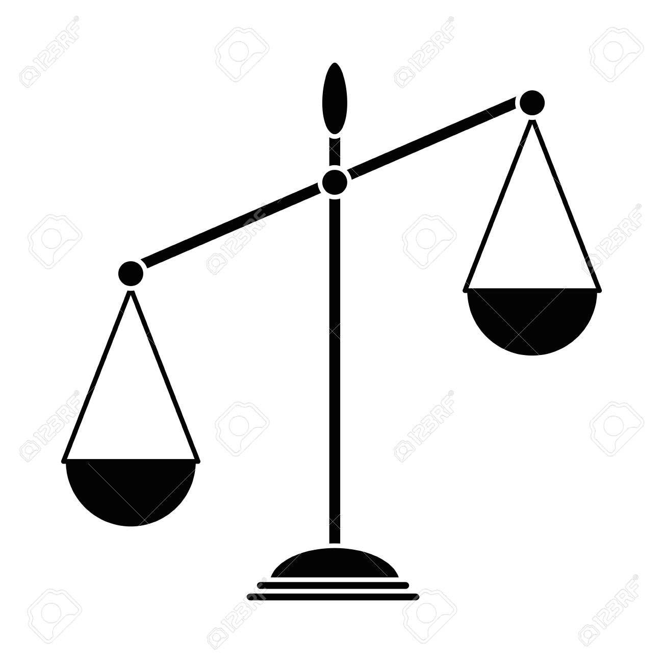Balance Scale Isolated Icon Vector Illustration Design Royalty Free Cliparts Vectors And Stock Illustration Image 88828861