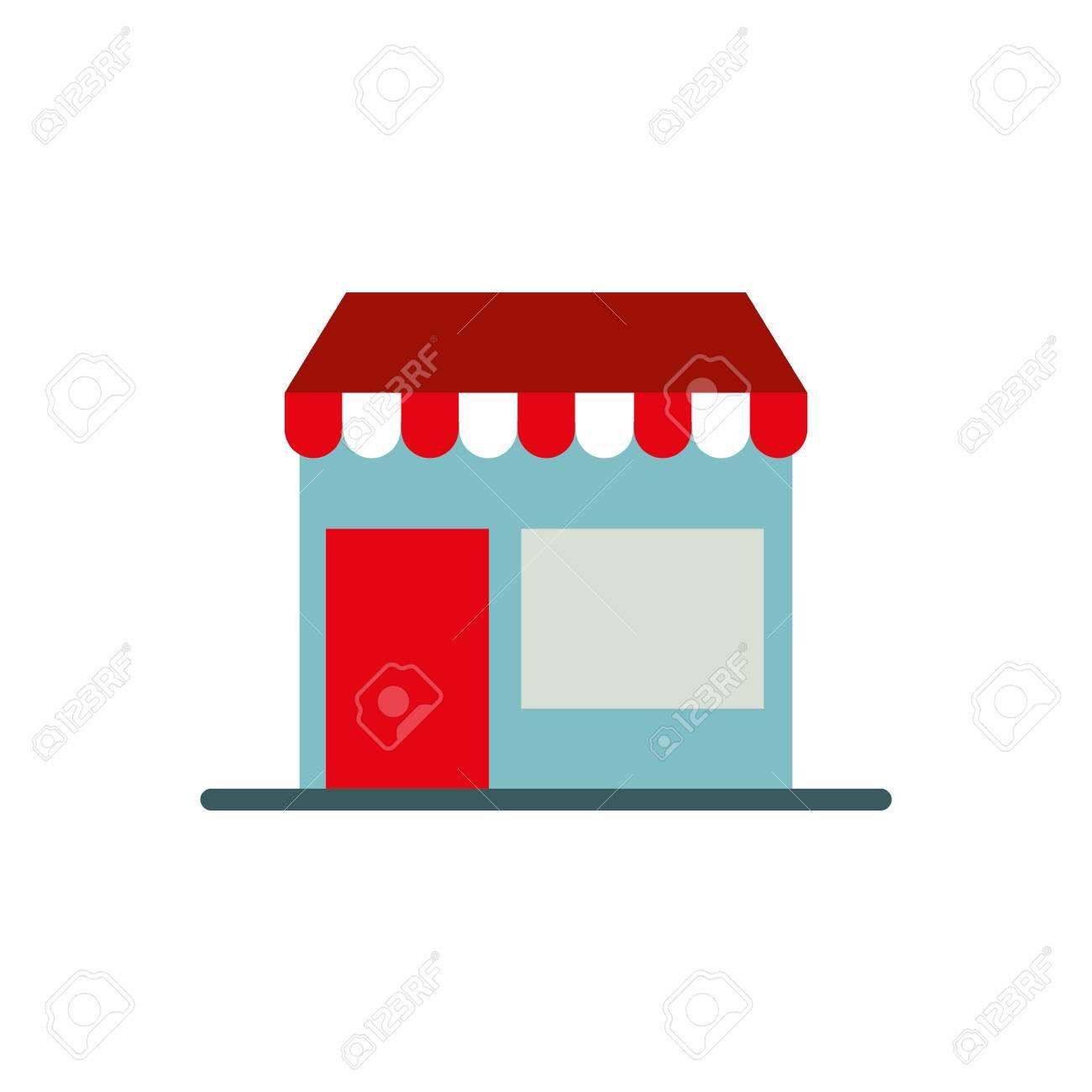 Ecommerce building store digital online button symbol vector illustration - 88975376