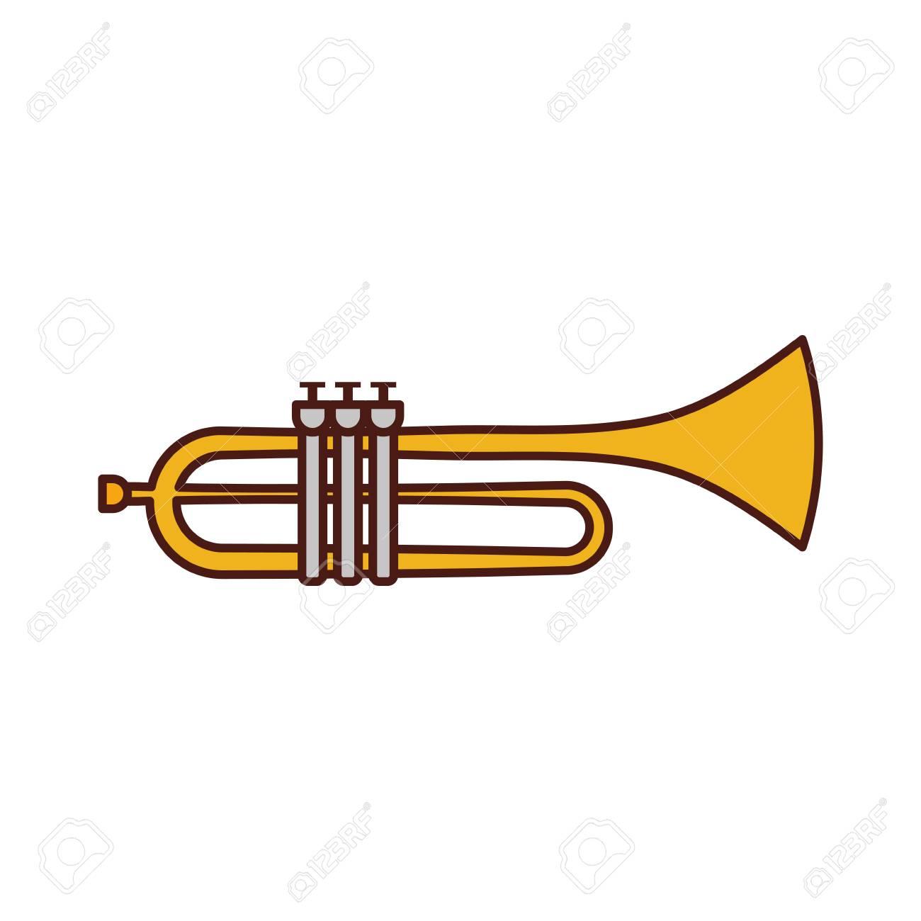Trompette isolé sur blanc - Telecharger Vectoriel Gratuit, Clipart  Graphique, Vecteur Dessins et Pictogramme Gratuit