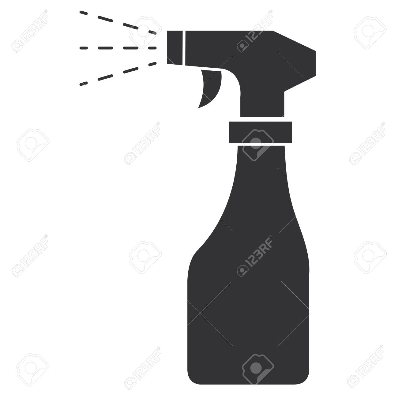spray bottle isolated icon vector illustration design - 90403227
