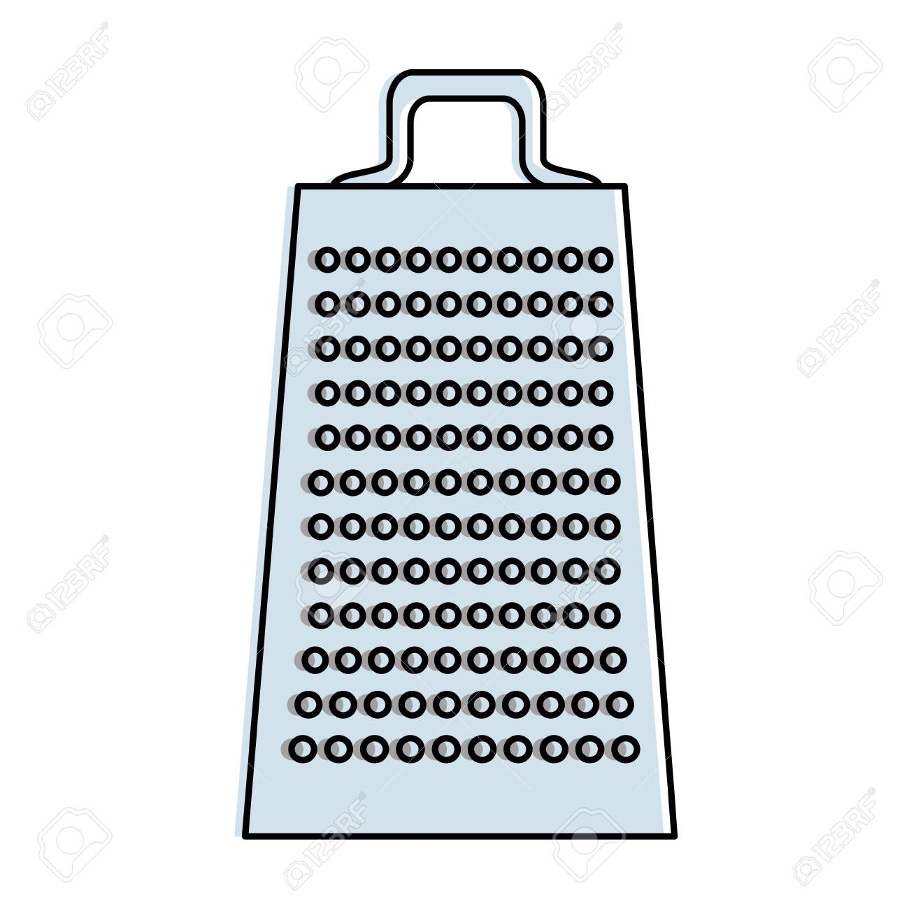 Charmant Kitchen Grater Isolated Icon Vector Illustration Design Stock Vector    90454628
