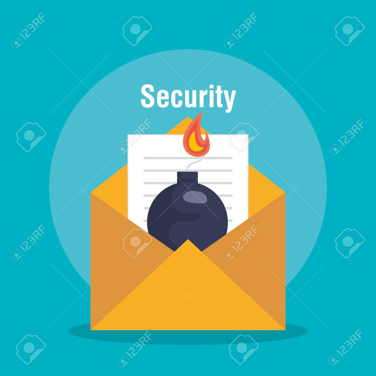 Security system concept icons vector illustration design. Archivio Fotografico - 92547838