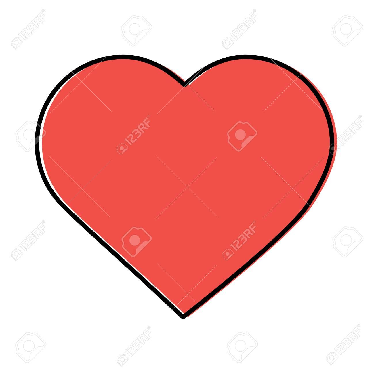 Idees De Fait Main Coeur Dessin