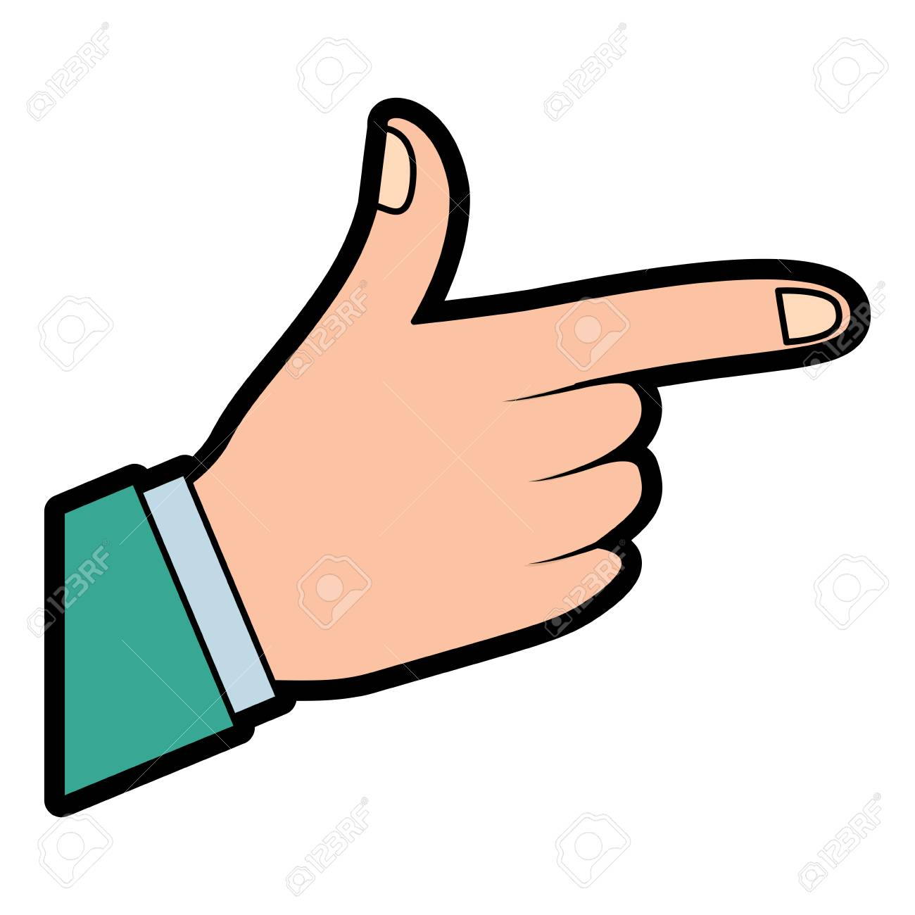 hand indicating or showing direction by pointing a finger vector rh 123rf com pointing finger vector graphic pointing finger vector graphic