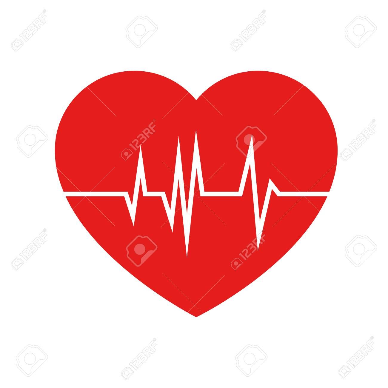 heart cardio isolated icon vector illustration design - 94433235