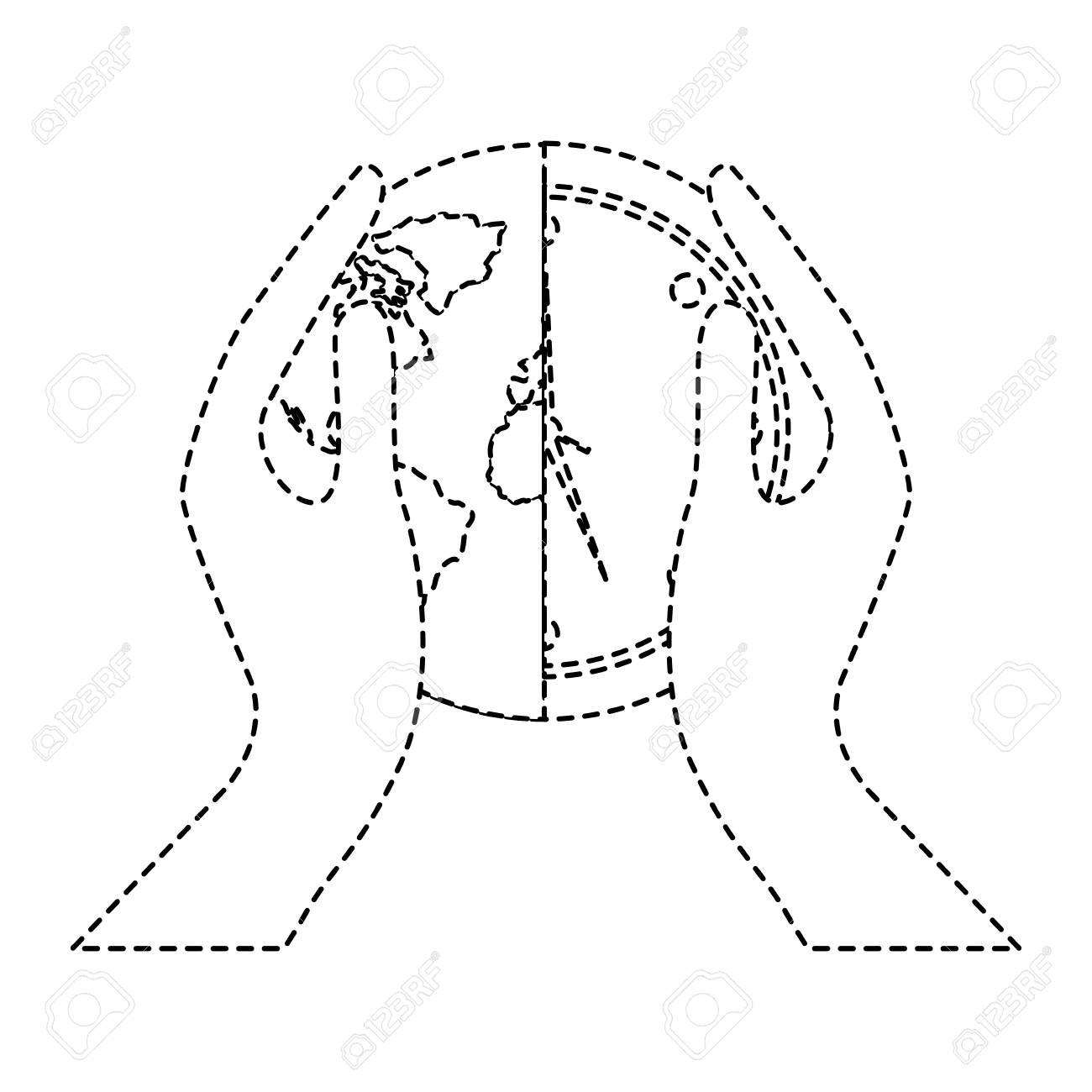 Hands holding clock world map protection concept vector illustration foto de archivo hands holding clock world map protection concept vector illustration sticker design image gumiabroncs Choice Image