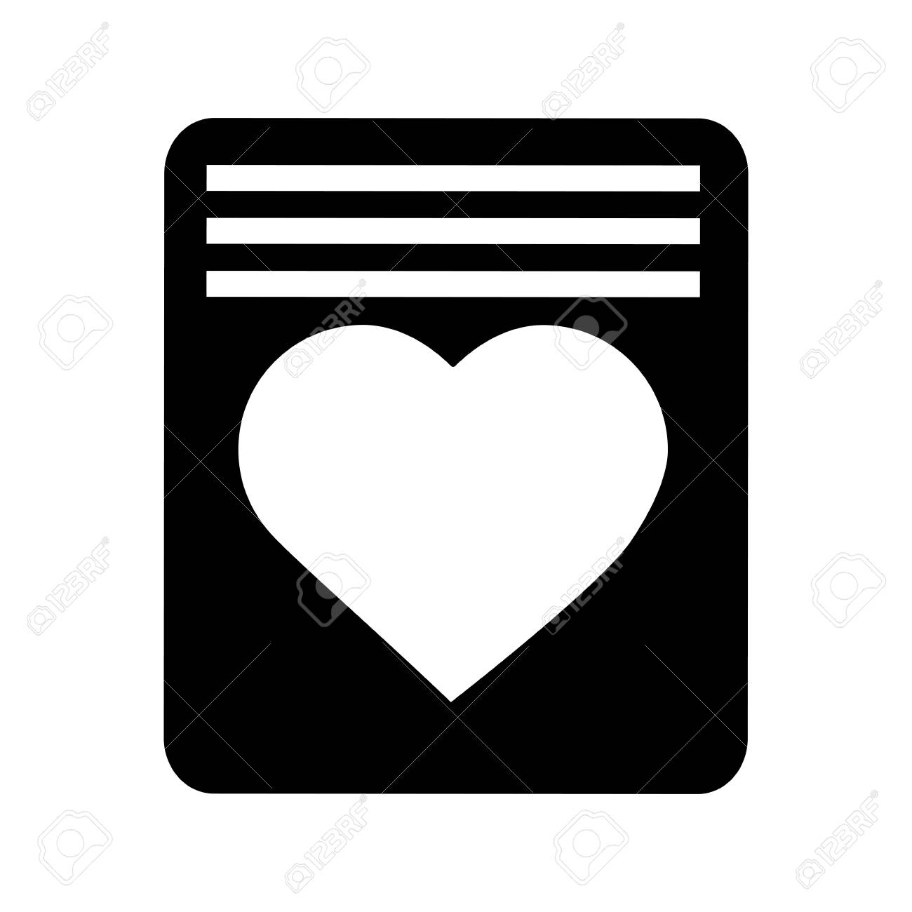love letter valentines day related icon image. vector illustration