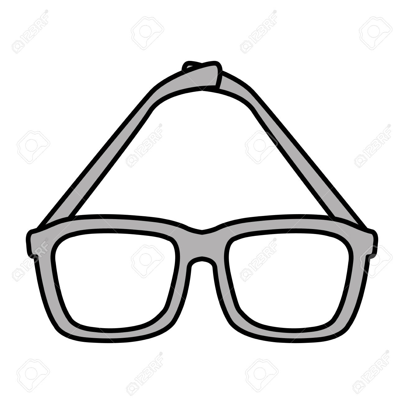 155fed569d75 Eye glasses isolated icon vector illustration design Stock Vector - 97070062