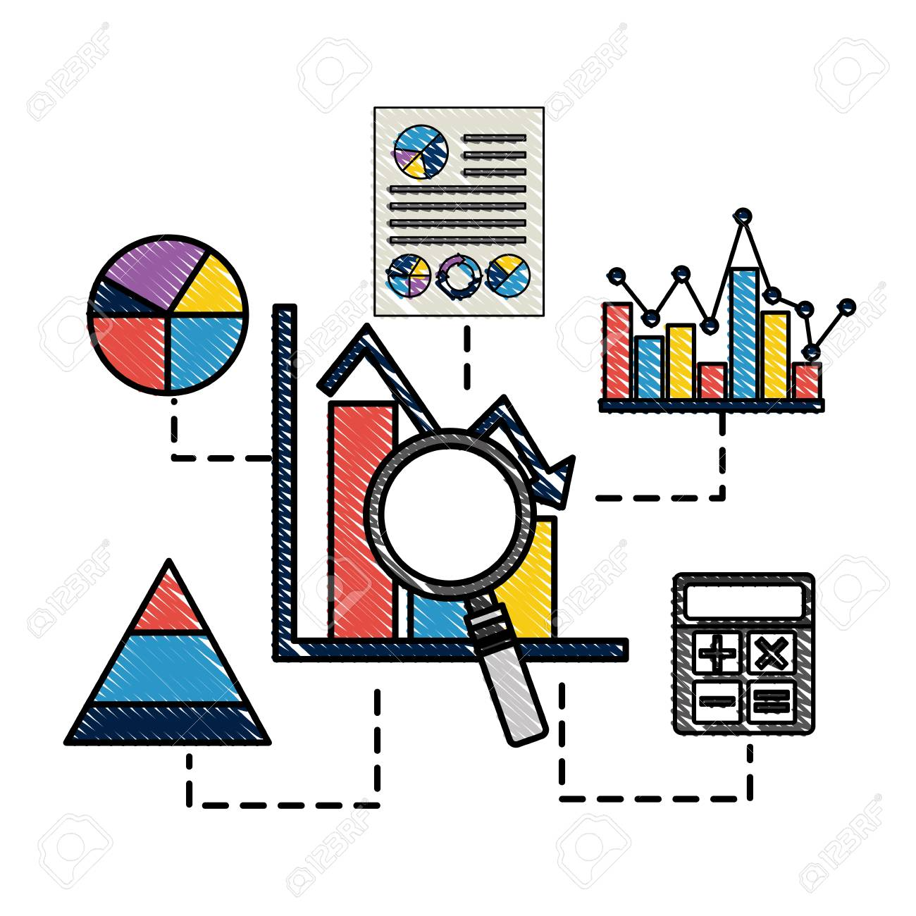 Bar graph statistics analysis calculator business vector bar graph statistics analysis calculator business vector illustration stock vector 97886828 ccuart Image collections