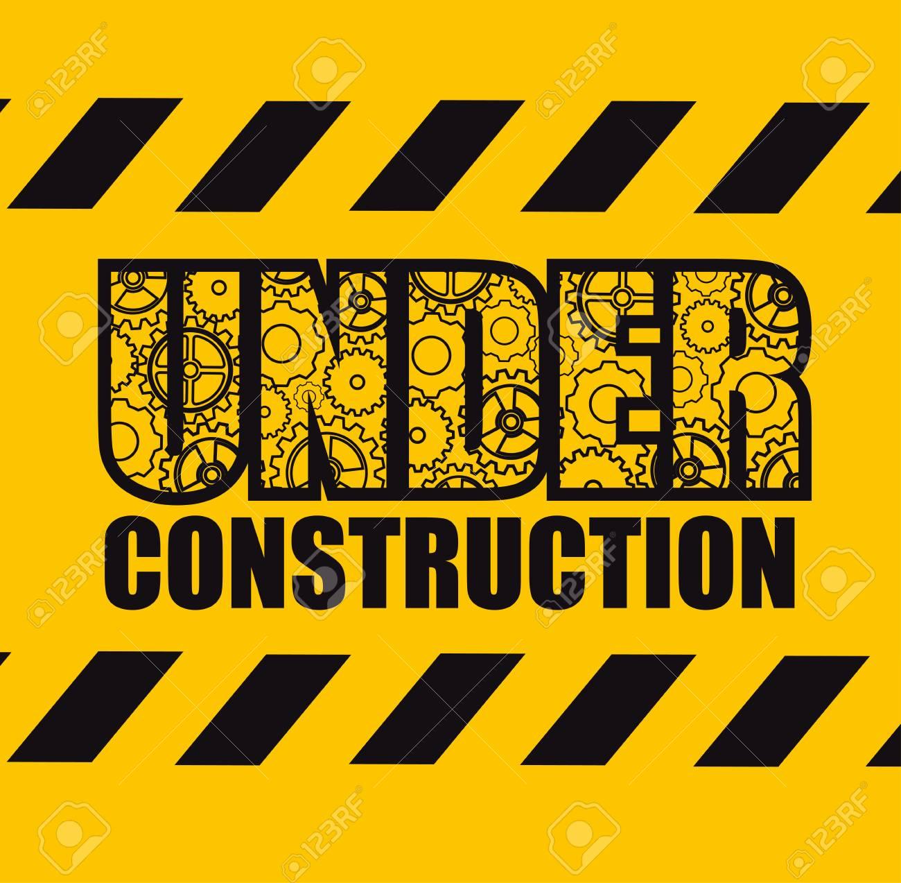 Under construction design - 98629989