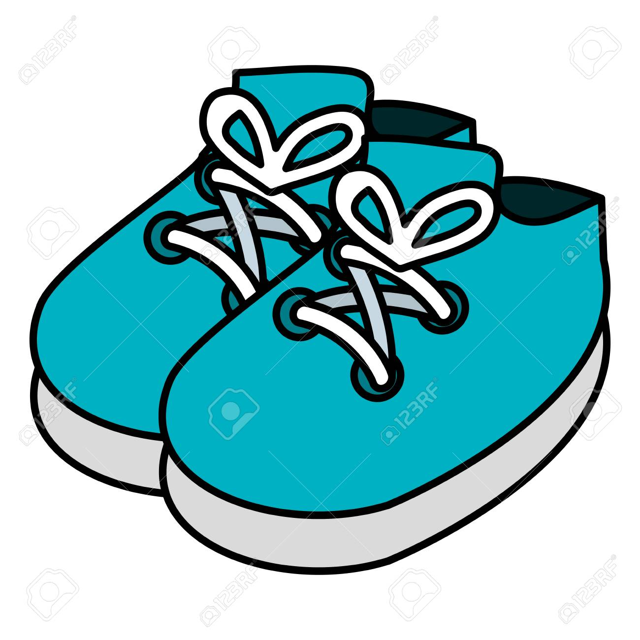 Baby Shoes Isolated Icon Vector Illustration Design Royalty Free Cliparts Vectors And Stock Illustration Image 98630174