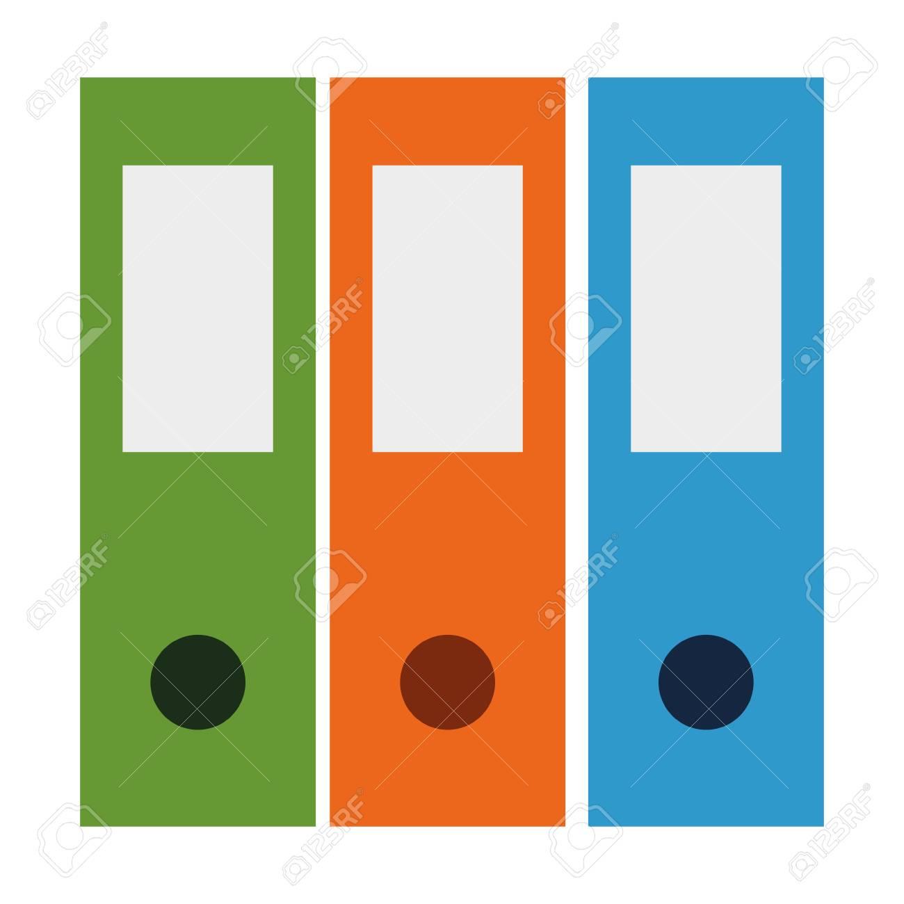 office files organiser icon vector illustration design - 114950970