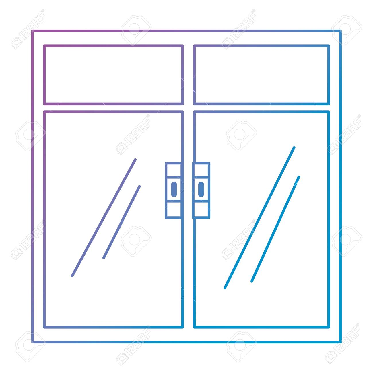 window inside isolated icon vector illustration design - 104819889