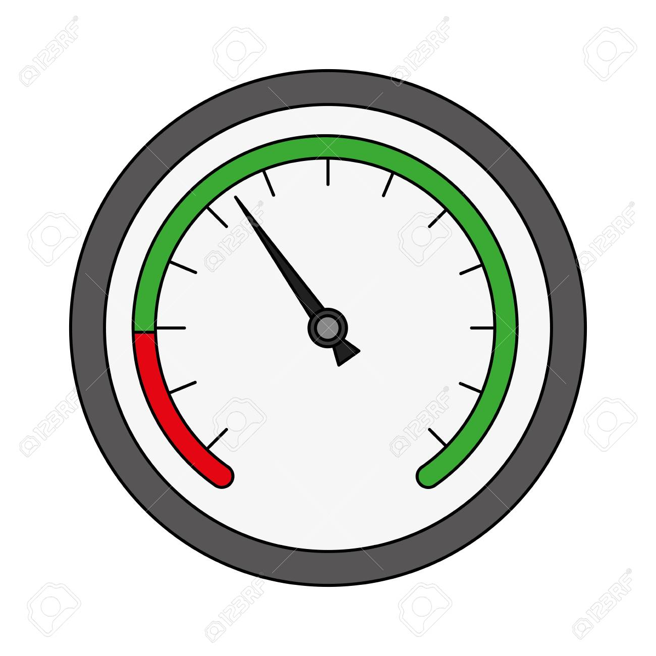speed gauge isolated icon vector illustration design - 106217647