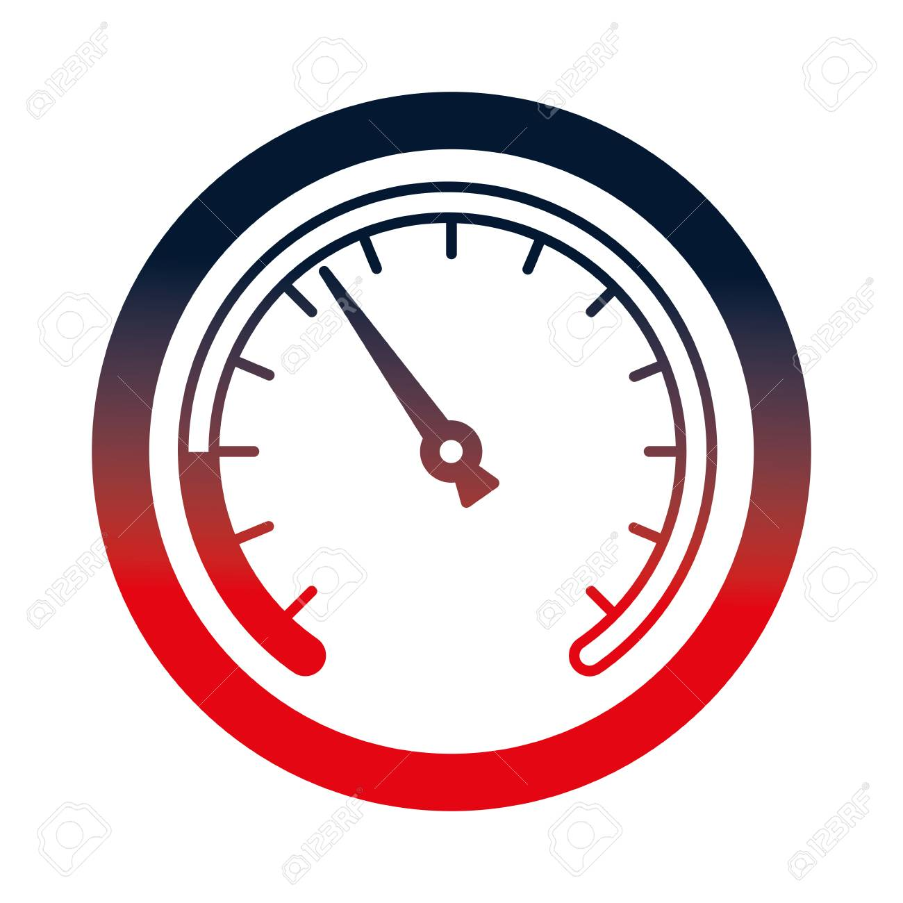 speed gauge isolated icon vector illustration design - 112070748