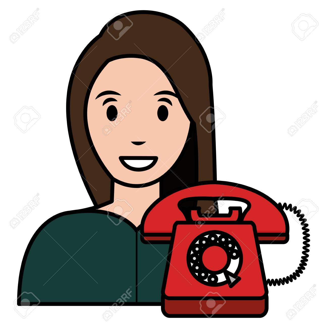 Red Phone Icon Png - Call Red Icon Png - Free Transparent PNG Download -  PNGkey