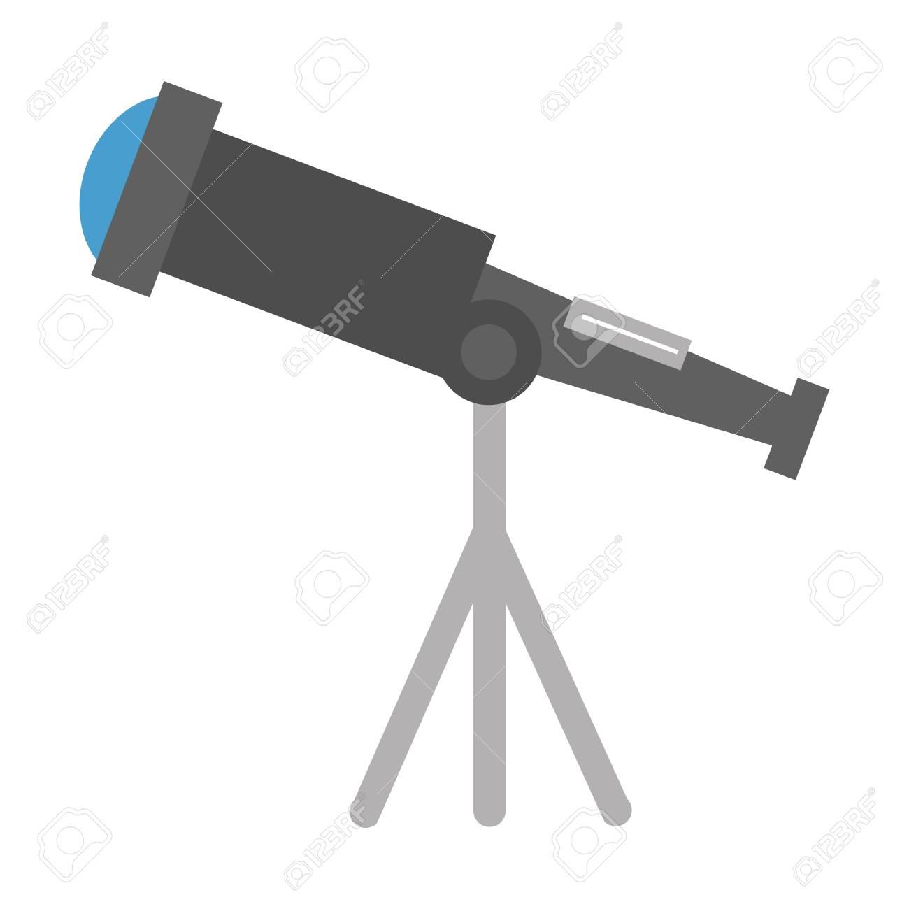 telescope device isolated icon vector illustration design - 111820119
