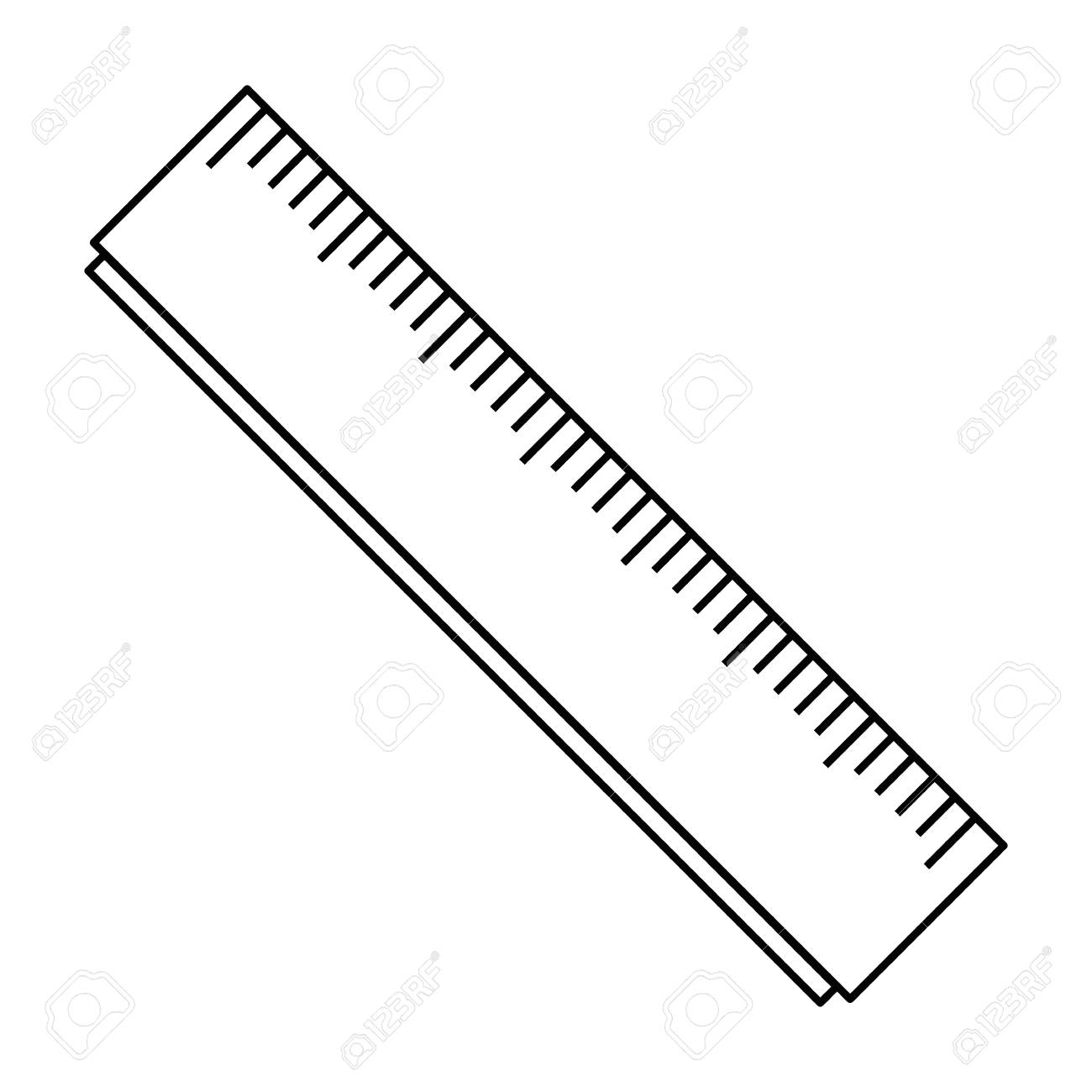 school rule isolated icon vector illustration design - 111694474