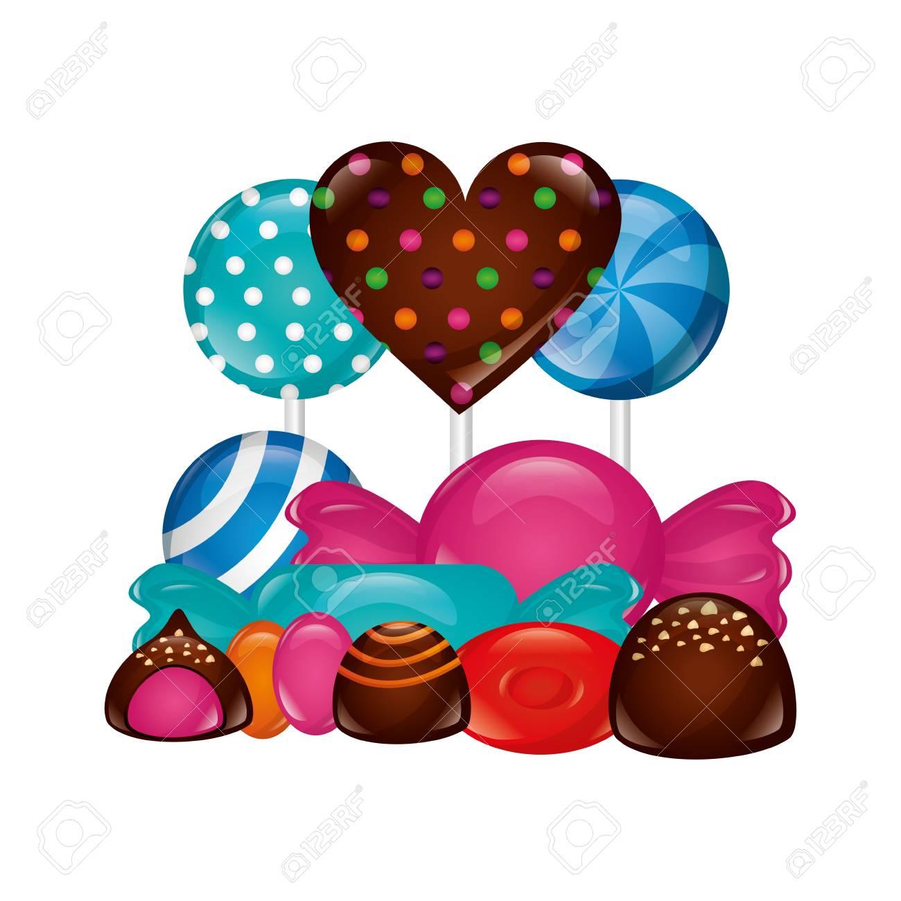 Chocolate Heart Clip Art