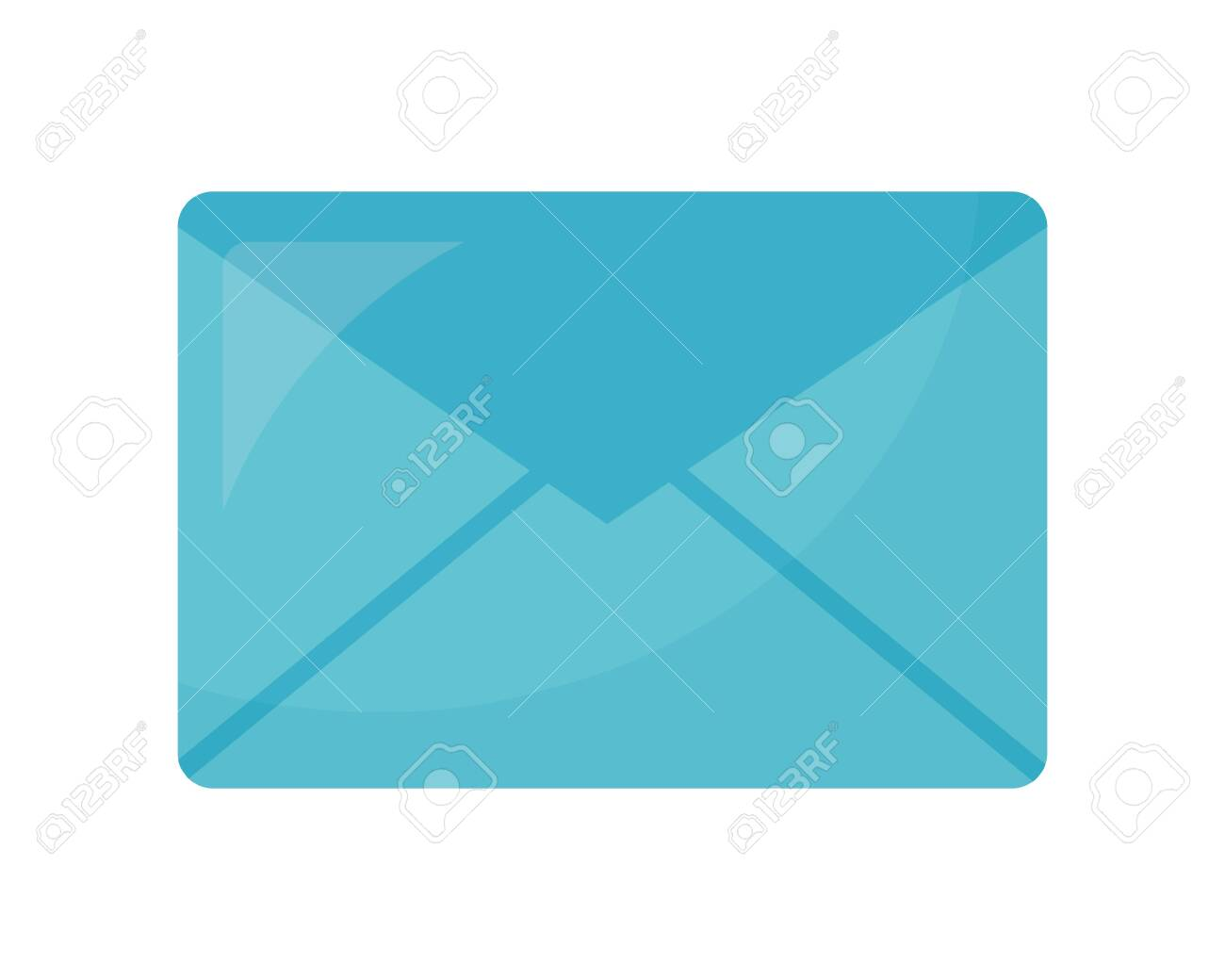 envelope mail isolated icon vector illustration design - 108234656