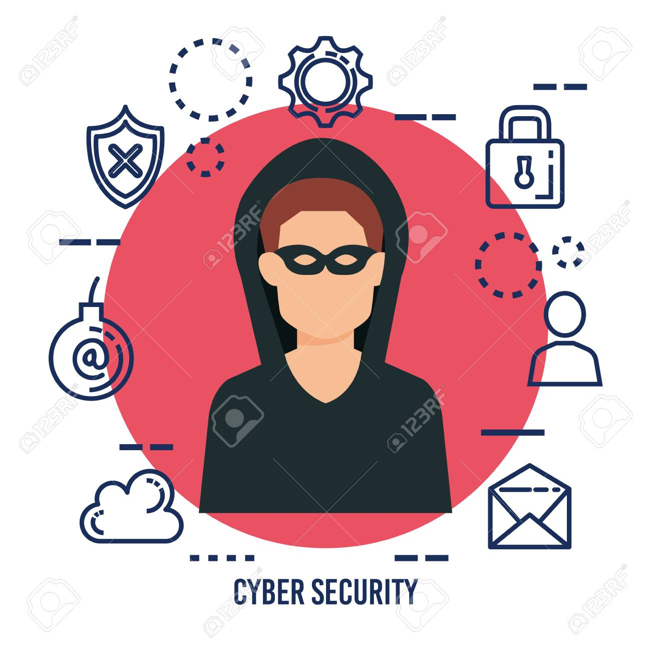 data center security with hacker vector illustration design royalty free cliparts vectors and stock illustration image 112684325 123rf com