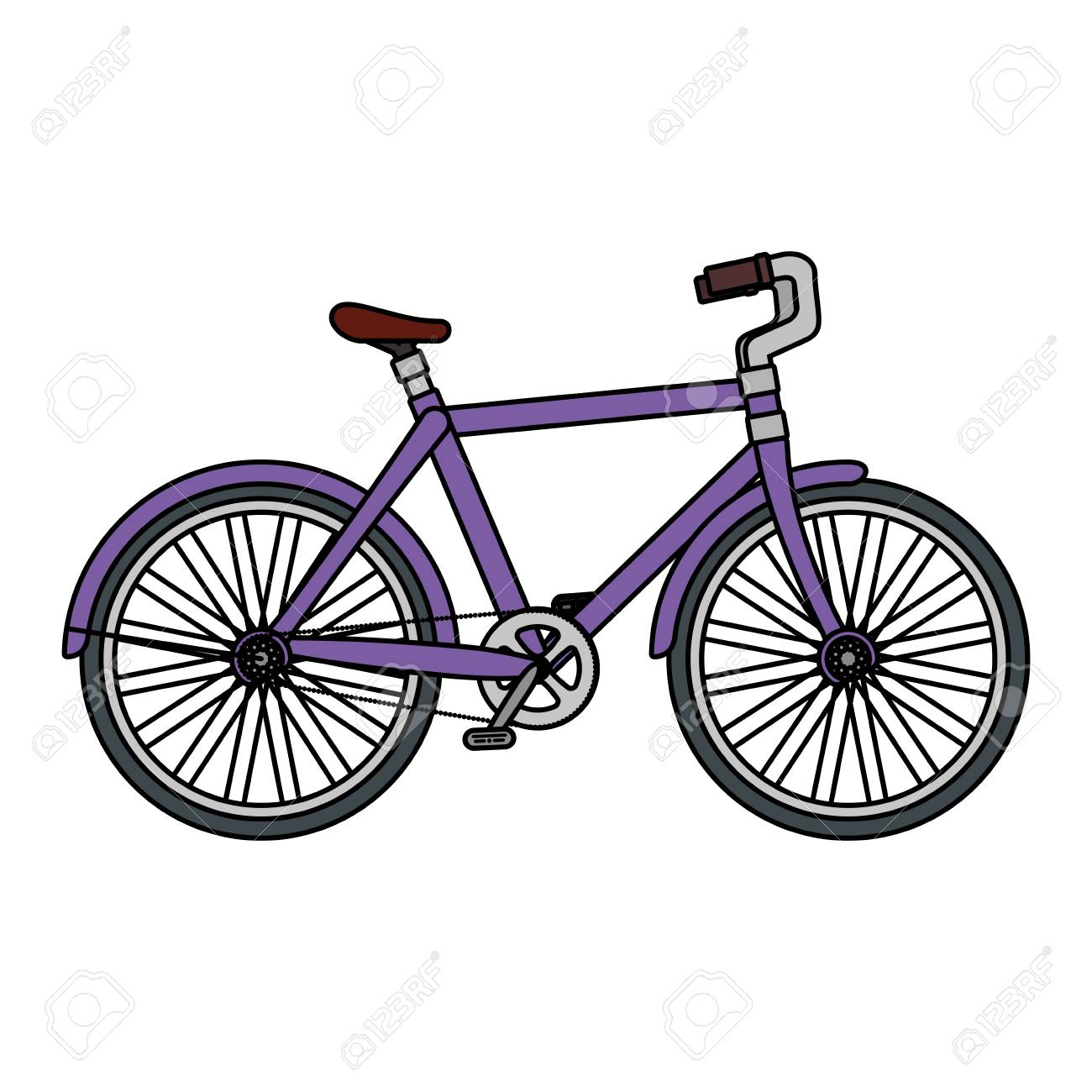 racing bicycle isolated icon vector illustration design - 126775144