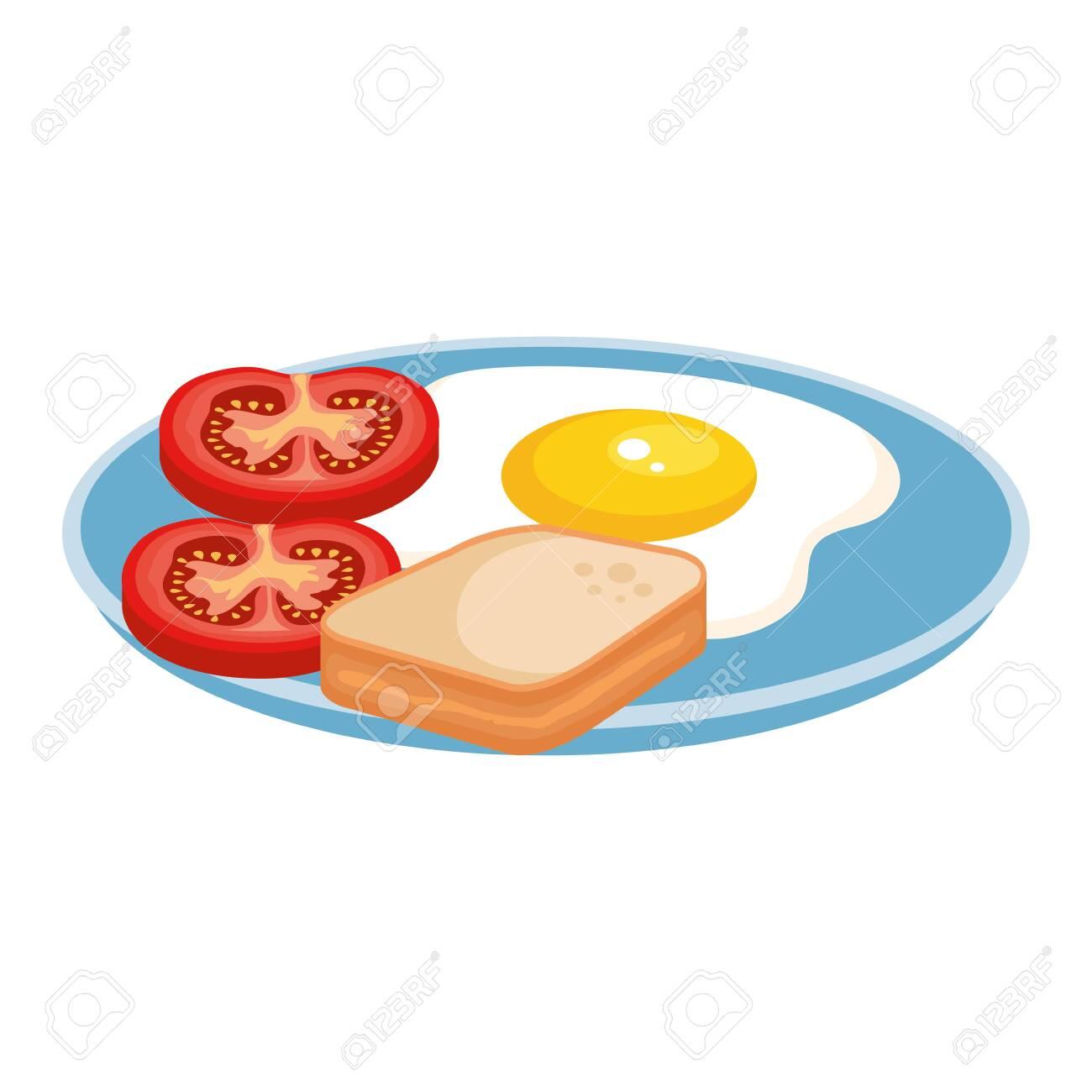 delicious breakfast menu icons vector illustration design - 124175325