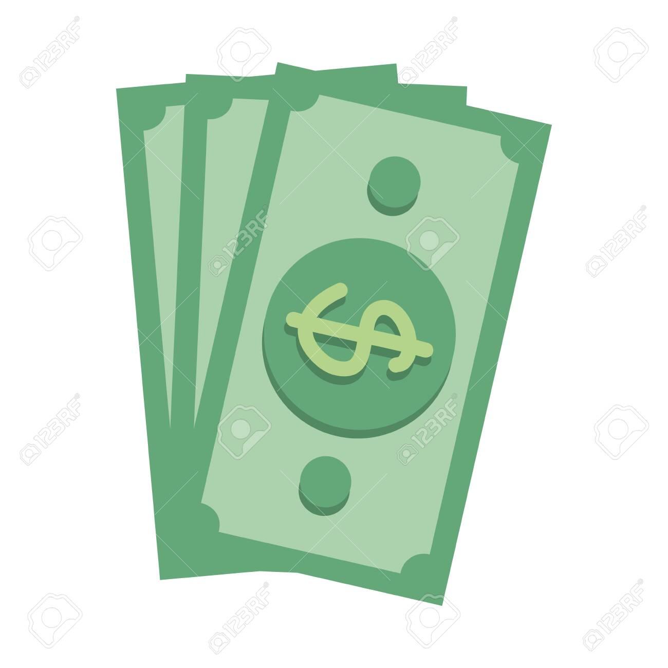 bills dollars isolated icon vector illustration design - 122948407