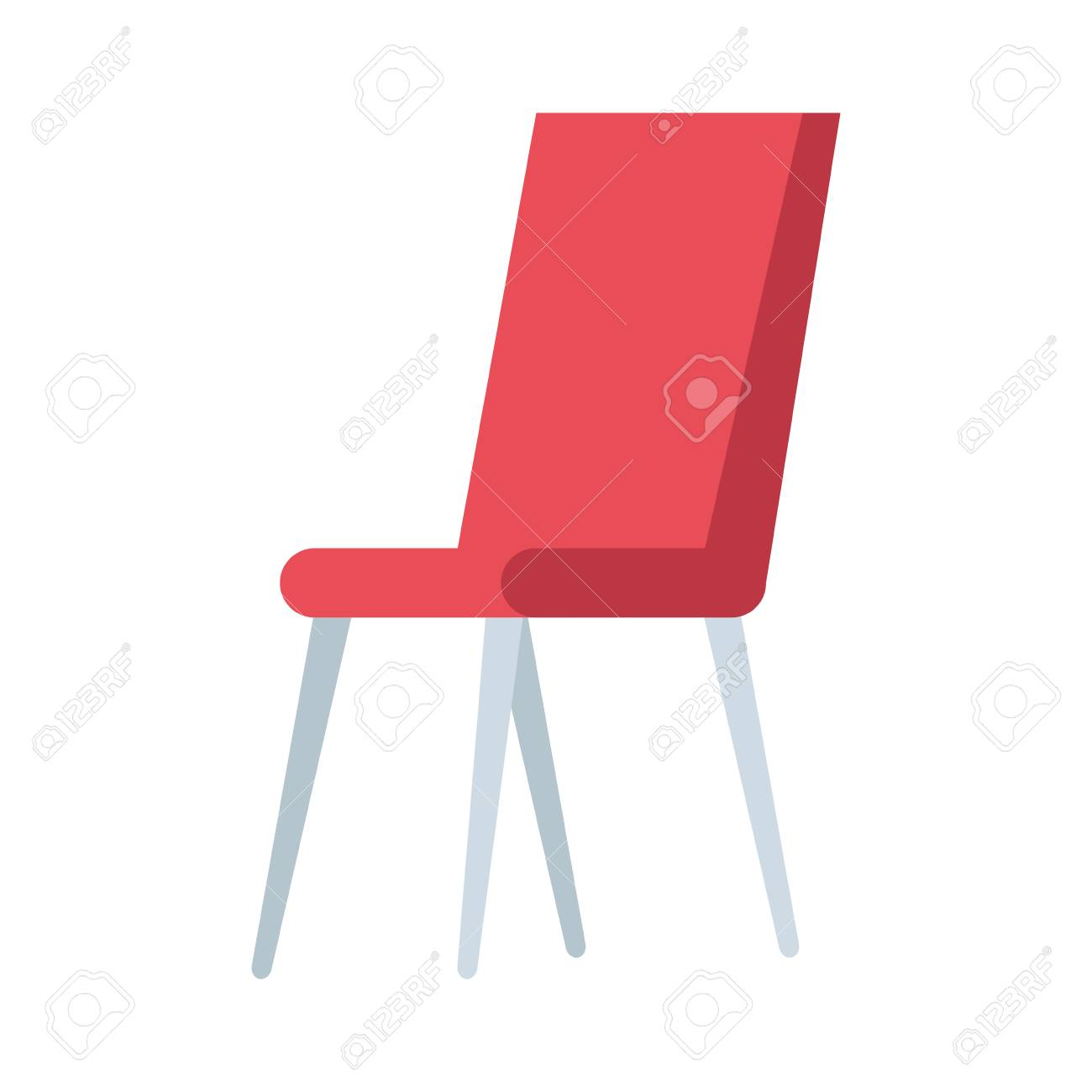 chair classic isolated icon vector illustration design - 123639101