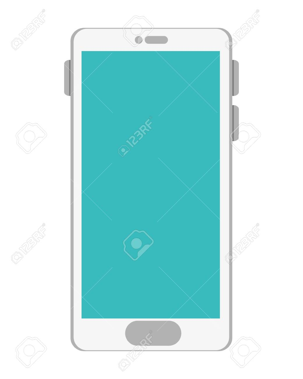 smartphone technology device isolated icon vector illustration design - 124922626