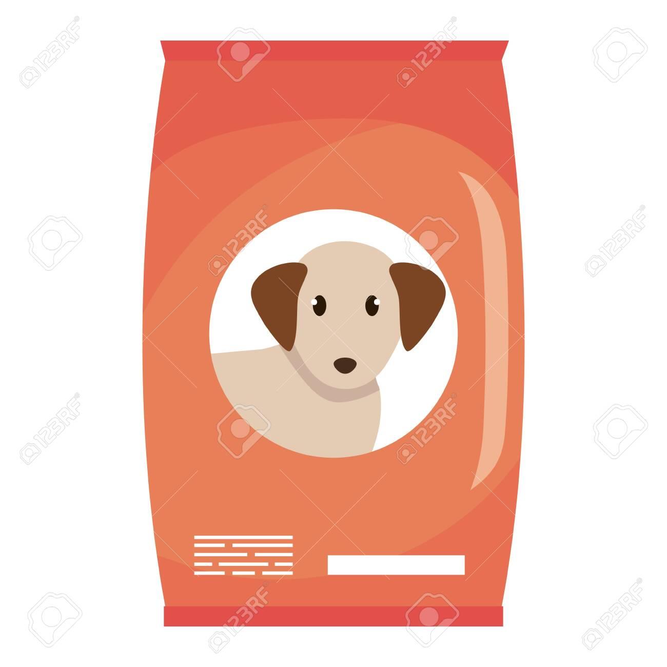 dog food bag icon vector illustration design - 126361577