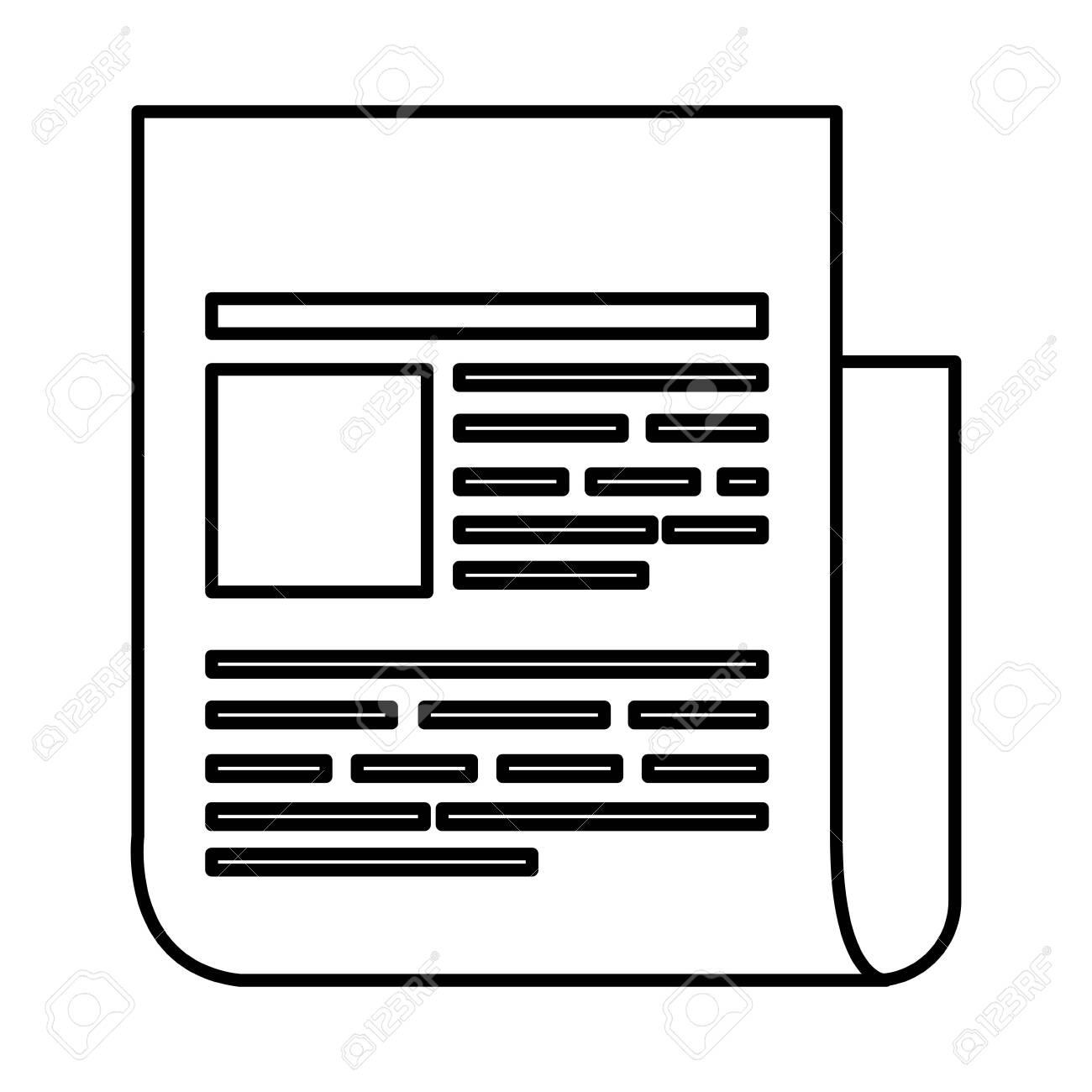 paper document file icon vector illustration design - 126404842