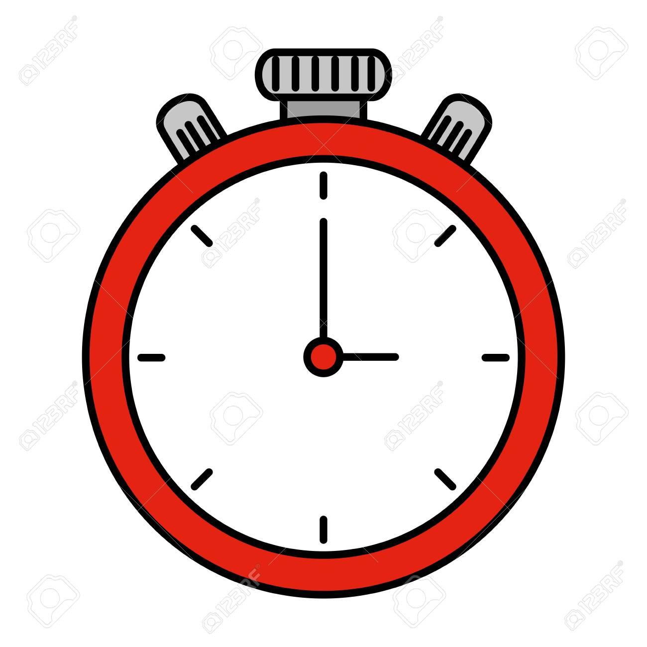 chronometer timer isolated icon vector illustration design - 129483613