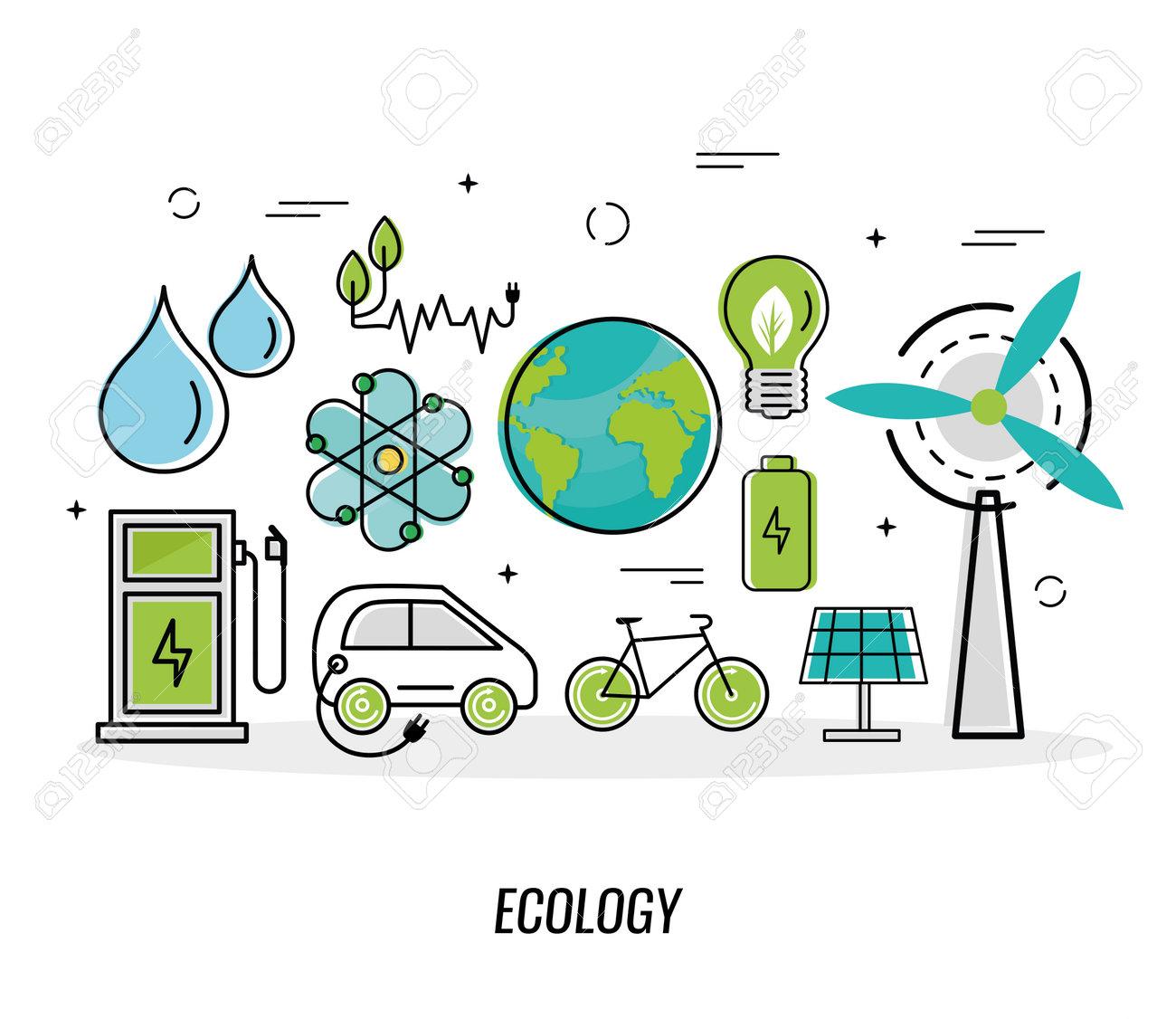 eleven green energy icons - 168533280