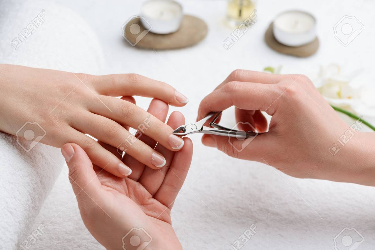 Careful removing of cuticle. Get rid of dead tissue for accurate and beautiful appearance of your nails. - 107037236