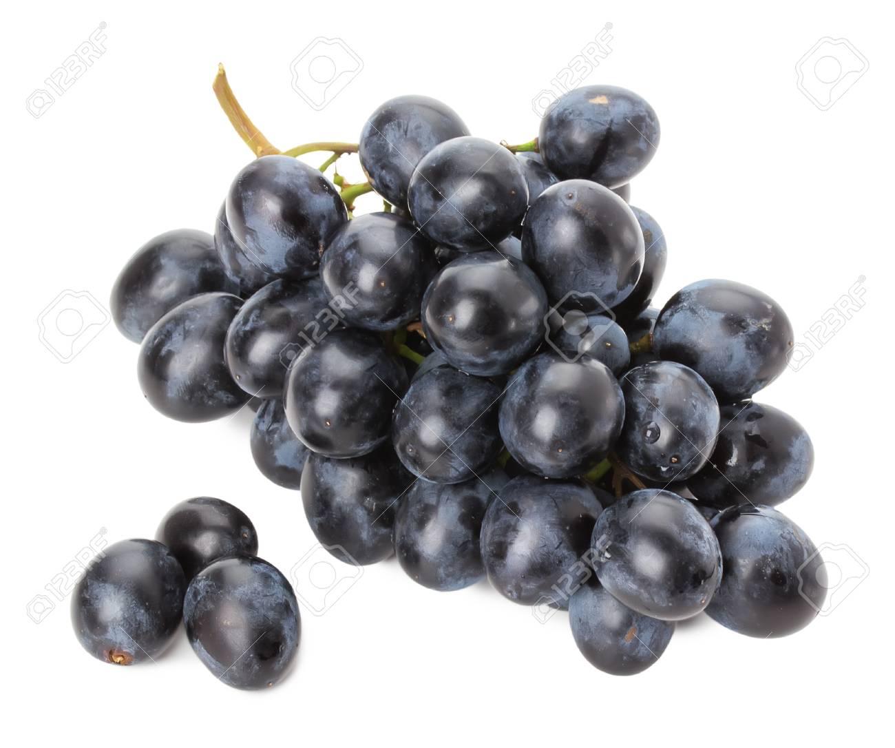 Paarse Druiven Geisoleerd Op De Witte Achtergrond Royalty Vrije Foto Plaatjes Beelden En Stock Fotografie Image 37051044