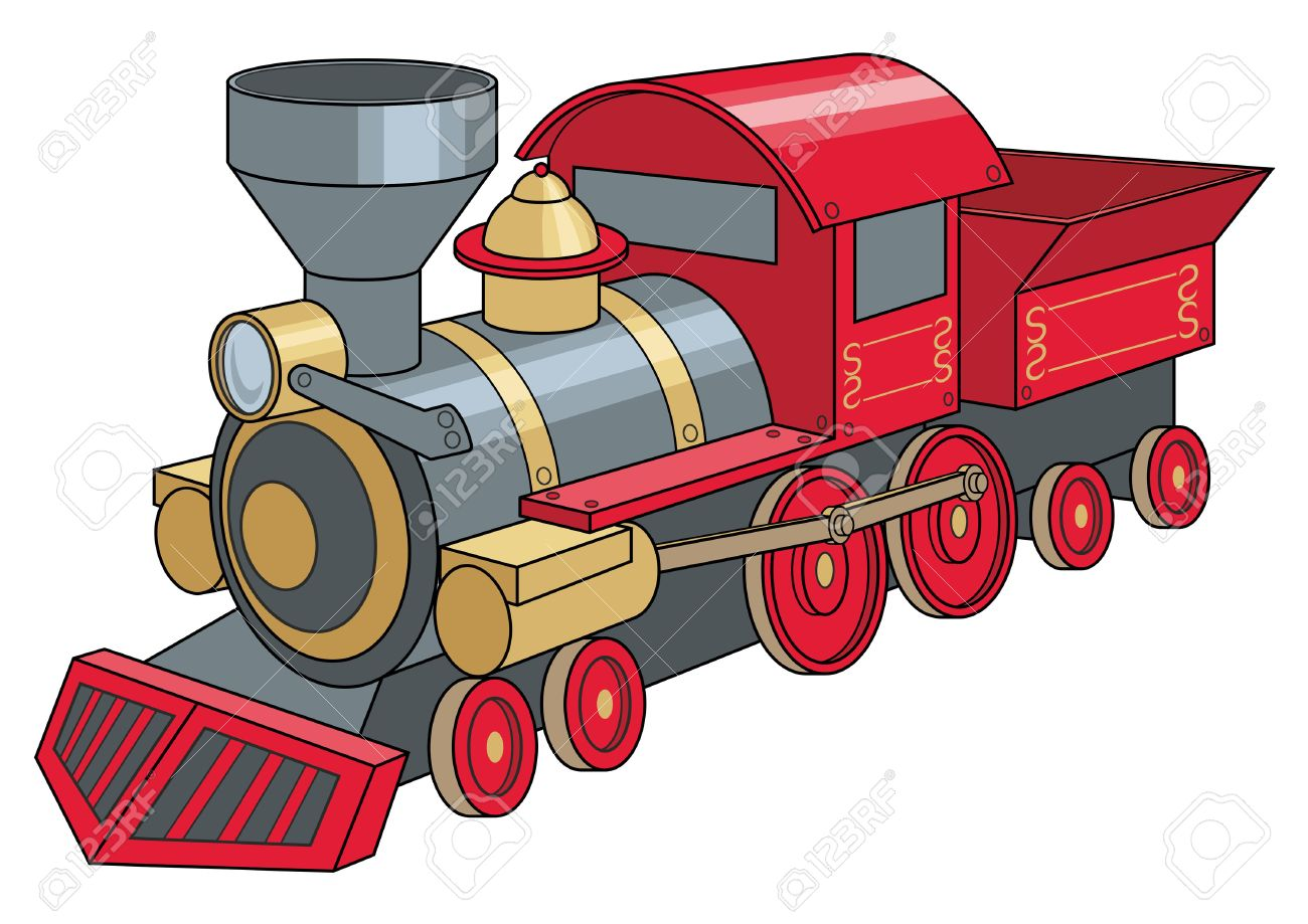 single old red train vector illustration royalty free cliparts rh 123rf com train vector icon train vector art