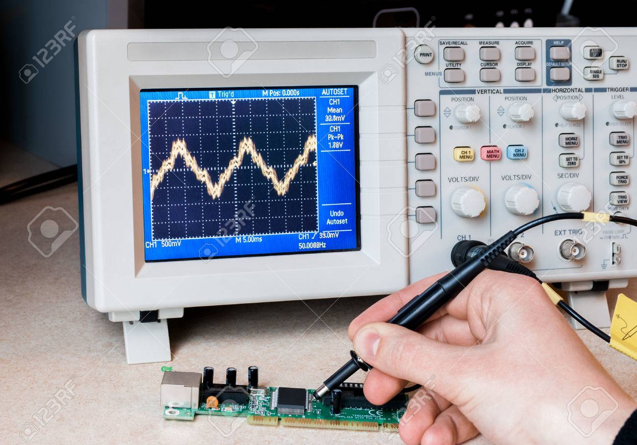 electronic circuit testing electronic laboratory science labelectronic circuit testing electronic laboratory science lab repair service stock photo