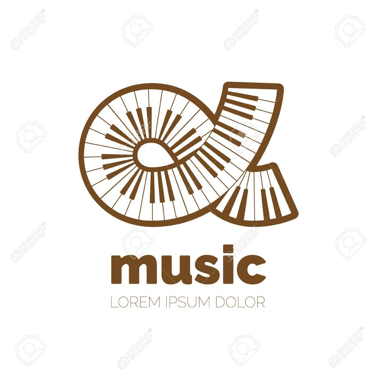 Creative piano keyboard vector logo design vector logotype symbols creative piano keyboard vector logo design vector logotype symbols logo icon design for website biocorpaavc Images