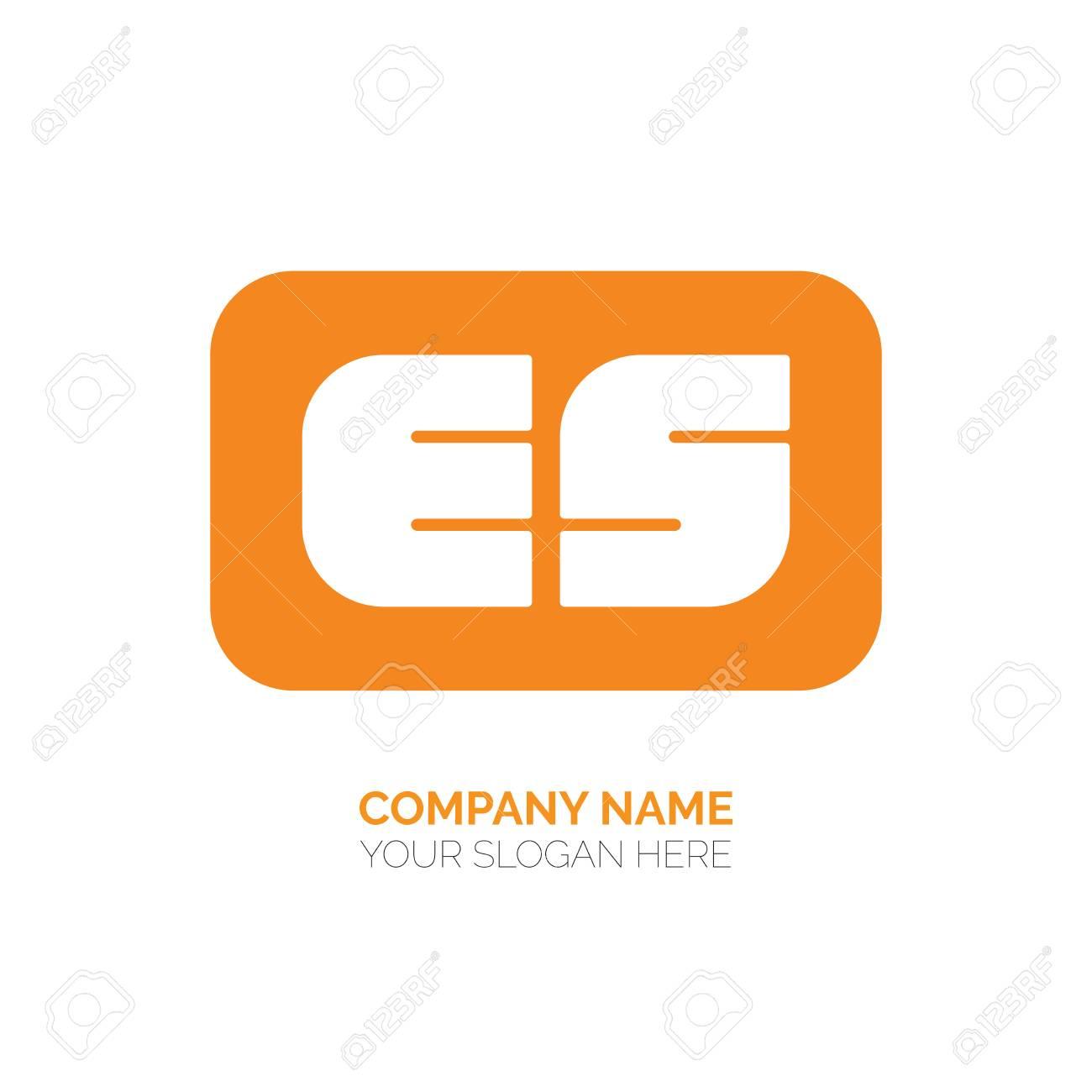Creative E And S Letter Vector Logo Design Es Vector Sign