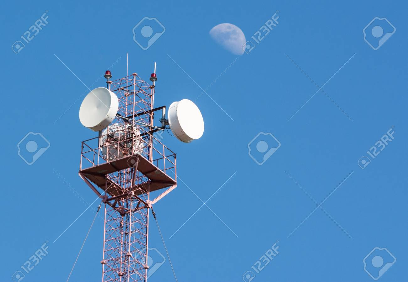 4G and 4 5G Cell site, Radio tower or mobile phone base station