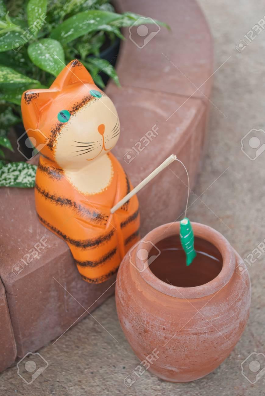 Fishing Cat Stock Photo - 10925115