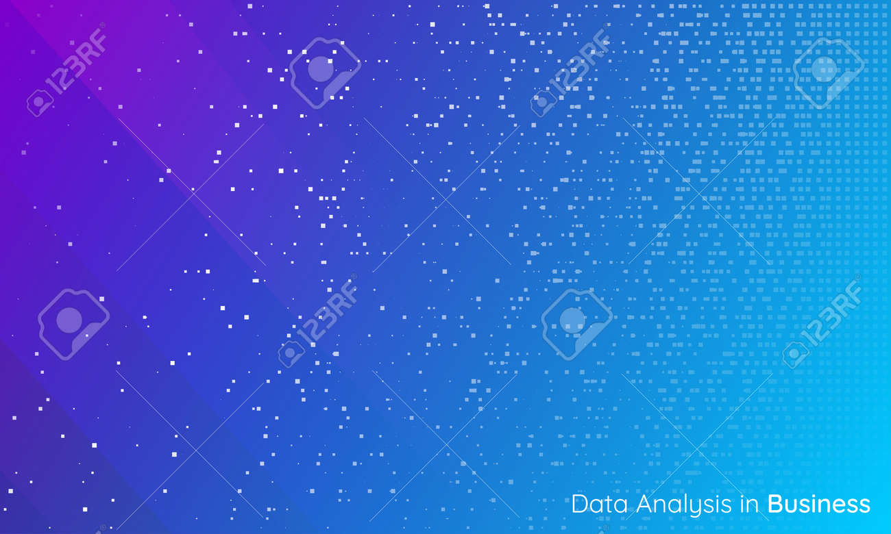 Business and technology background. Big data sorting. Chaos to order. Predictive analytics. Smart system. Artificial intelligence. - 159980198