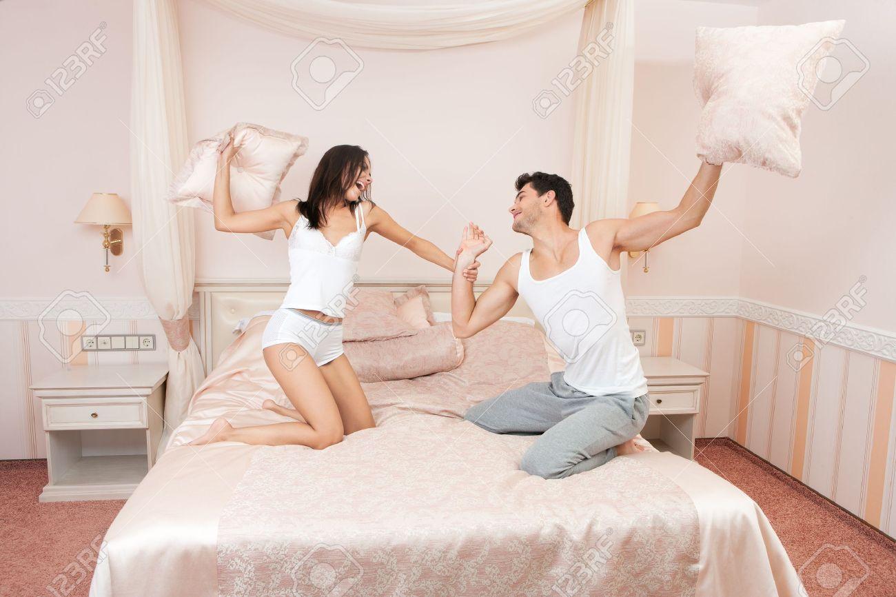 Мы с женой в кровати фото