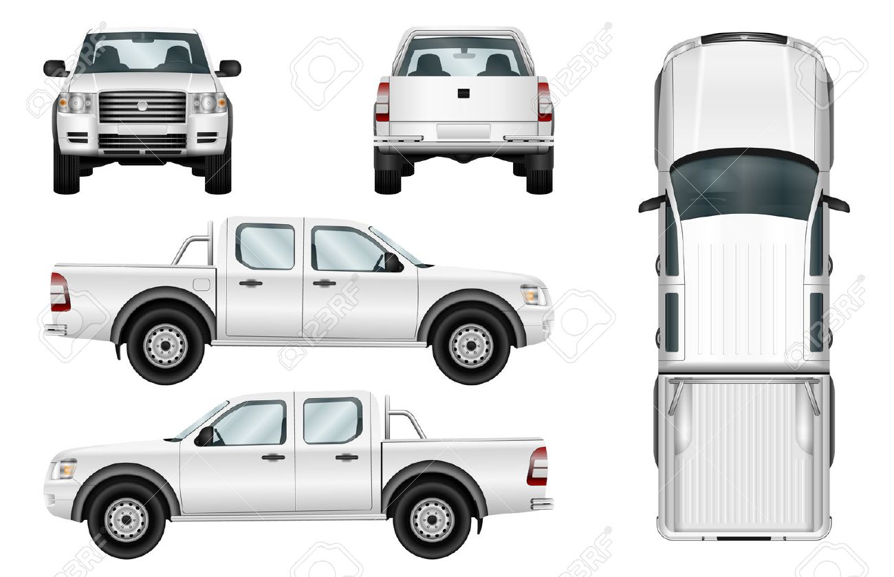 Download Free Vehicle Wrap Templates Ford Transit Connect